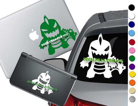 Godzilla - Vinyl Decal Sticker For cars, laptops, and more!