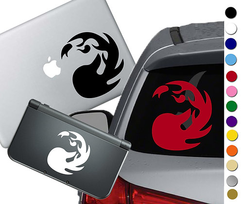 Magic the Gathering- Mountain - Vinyl Decal Sticker For cars, laptops, and more!