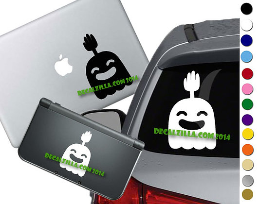 "Sale! 1.5""Regular Show High 5 ghost -Mini Vinyl Decal Sticker For laptops"