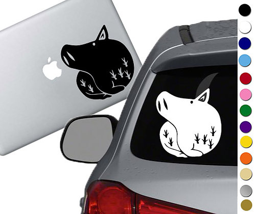Seven Deadly Sins- Gluttony - Vinyl Decal Sticker - For cars, laptops, and more!