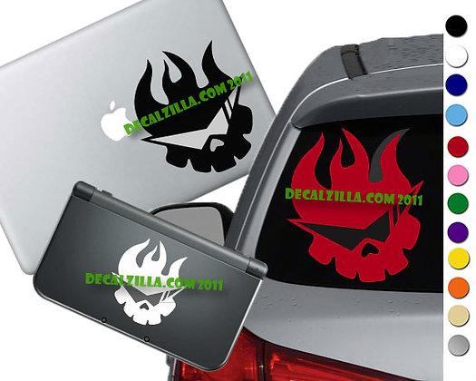 Gurren Lagann Symbol - Vinyl Decal Sticker For cars, laptops, and more!