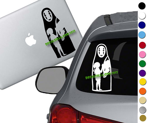 Spirited Away - Vinyl Decal Sticker - For cars, laptops, and more!