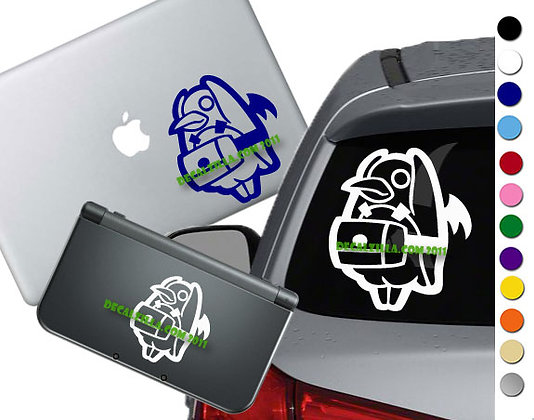 Disgaea - Prinny Spin- Vinyl Decal Sticker For cars, laptops, and more!