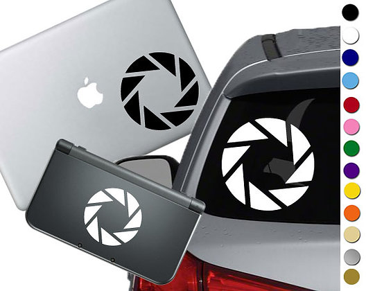 """Sale! 1.5"""" Aperture Science -Mini Vinyl Decal Sticker For laptops and more!"""