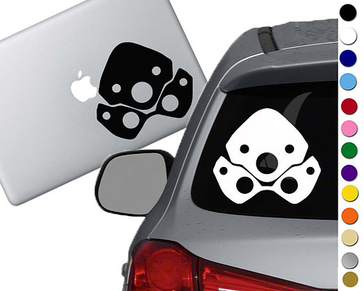 Overwatch - Widowmaker - Vinyl Decal Sticker - For cars, laptops, and more!