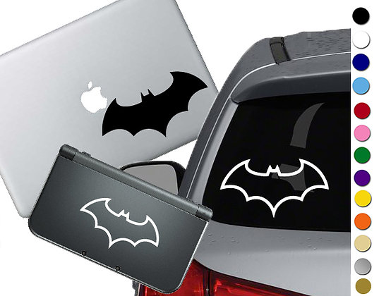 Batman Symbol - Vinyl Decal Sticker For cars, laptops, and more!