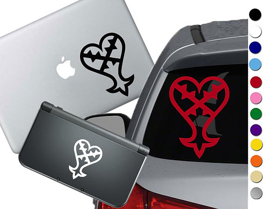 Kingdom Hearts Heartless - Vinyl Decal Sticker For cars, laptops, and more!