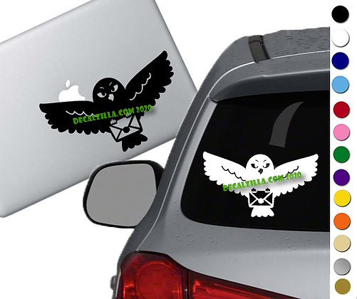 Harry Potter - Hedwig - Vinyl Decal Sticker - For cars, laptops and more!