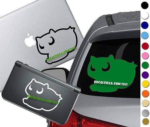 Pokemon - Bulbasaur - Vinyl Decal Sticker For cars, laptops, and more!