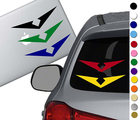 Voltron - Vinyl Decal Sticker - For cars, laptops, and more!