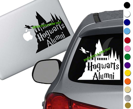 Harry Potter - Hogwarts Alumni - Vinyl Decal Sticker - For cars and more!