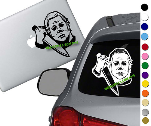 Halloween Michael Myers- Vinyl Decal Sticker - For car, laptops and more!