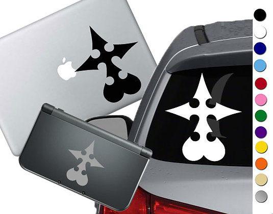 Kingdom Hearts Nobody - Vinyl Decal Sticker For cars, laptops, and more!