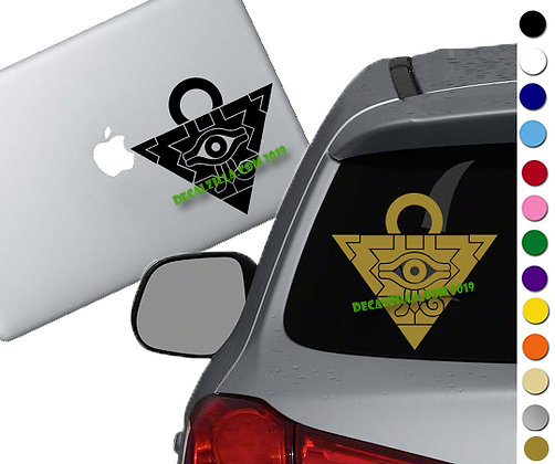 Yugioh Millennium Puzzle - Vinyl Decal Sticker - For cars, laptops, and more!