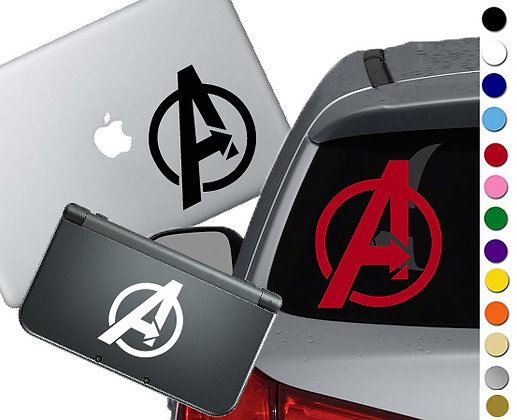 Avengers Symbol - Vinyl Decal Sticker For cars, laptops, and more!