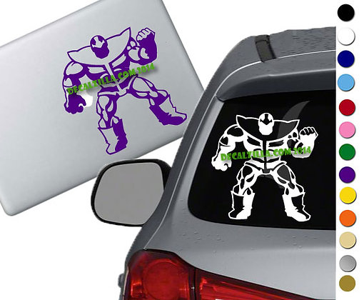Thanos - Vinyl Decal Sticker - For cars, laptops, and more!