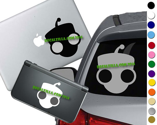 Invader Zim - Robot GIR- Vinyl Decal Sticker For cars, laptops, and more!