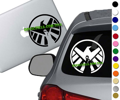 Sale! Nick Fury Shield - Vinyl Decal Sticker For cars, laptops, and more!