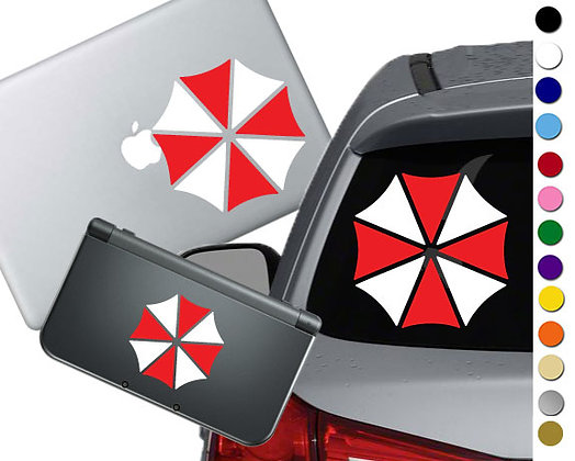 Resident Evil- Umbrella Corp - Vinyl Decal Sticker For cars, laptops, and more!