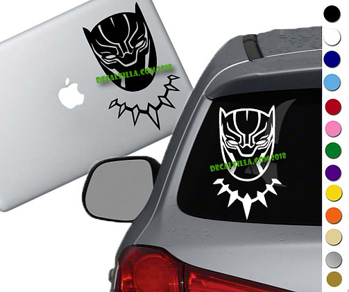 Black Panther - Vinyl Decal Sticker For cars, laptops, and more!