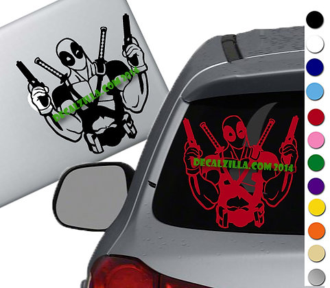 Deadpool - Vinyl Decal Sticker - For cars, laptops, and more!