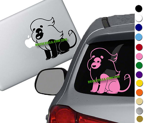Steven Universe Lion - Vinyl Decal Sticker - For cars, laptops, and more!