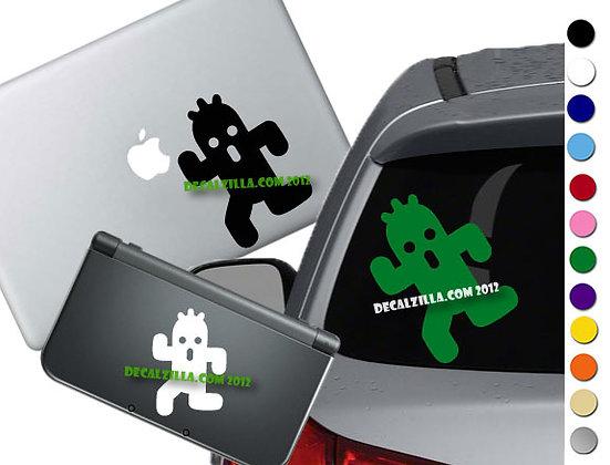 "Sale! 1.5"" Final Fantasy Cactuar -Mini Vinyl Decal Sticker For laptops and more!"