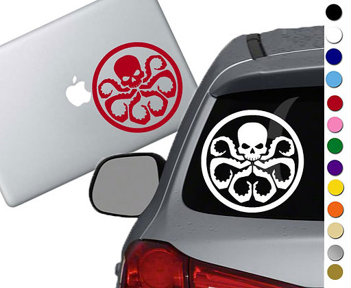 Hydra Symbol - Vinyl Decal Sticker - For cars, laptops, and more!