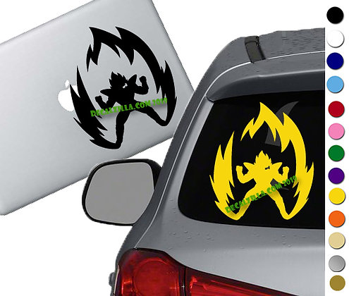 Anime Power Up Prince - Vinyl Decal Sticker - For cars, laptops and more!