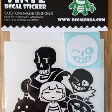 Undertale Decal Pack
