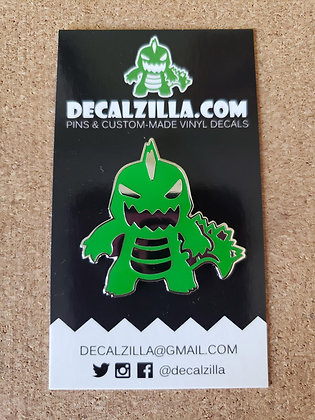Godzilla - Hard Enamel Pin For Clothes, Backpacks and more!