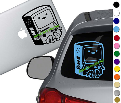 Adventure Time - BMO - Vinyl Decal Sticker - For cars, laptops, and more!