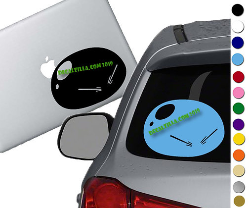 That Time I got Reincarnated as a Slime- Vinyl Decal Sticker - For cars and more