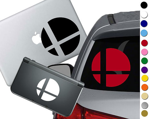 Smash Brothers - Vinyl Decal Sticker For cars, laptops, and more!
