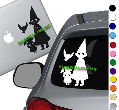 Over the Garden Wall - Vinyl Decal Sticker - For cars, laptops, and more!