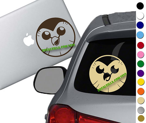 The Owl House - Hooty - Vinyl Decal Sticker - For cars, laptops and more!