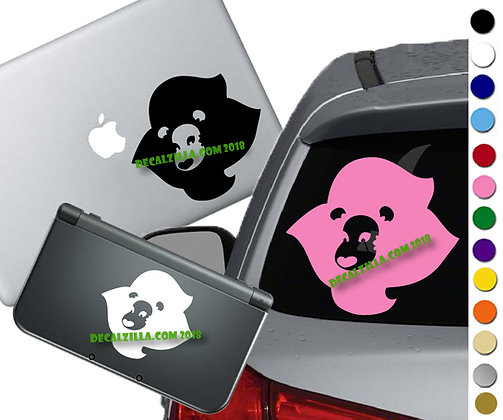Steven Universe Lion Head- Vinyl Decal Sticker For cars, laptops, and more!