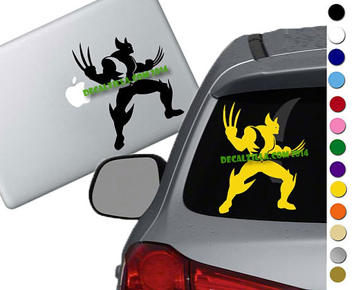 X Men Wolverine - Vinyl Decal Sticker - For cars, laptops, and more!