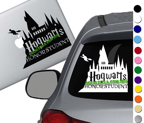 Harry Potter - Hogwarts Honor Student - Vinyl Decal Sticker - For cars and more!