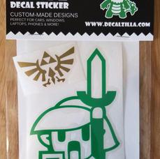 Legend of Zelda Decal Pack