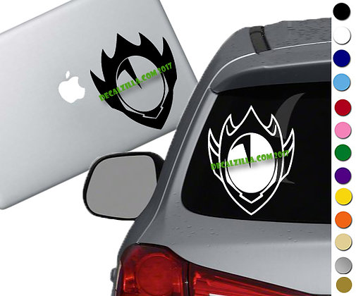 Code Geass- Zero Mask - Vinyl Decal Sticker - For cars, laptops and more!