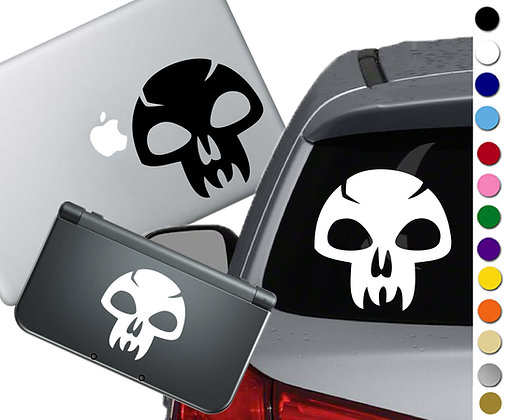 Magic the Gathering- Swamp - Vinyl Decal Sticker For cars, laptops, and more!