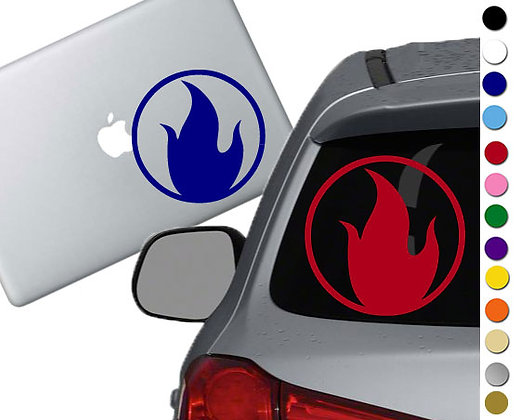 Sale! TF2 Pyro -Vinyl Decal Sticker For cars, laptops, and more!