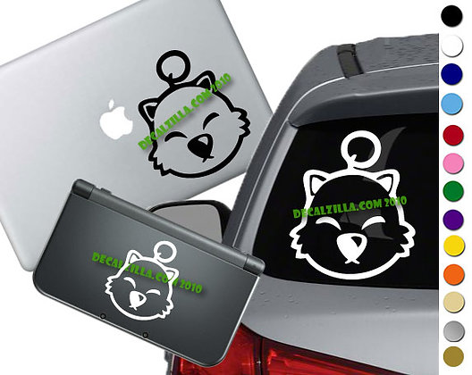 Final Fantasy - Moogle - Vinyl Decal Sticker For cars, laptops, and more!