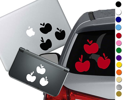 My Little Pony Apple Jack Cutie Mark - Vinyl Decal For cars, laptops, and more!