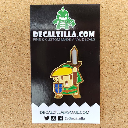 Legend of Zelda- Link - Hard Enamel Pin For Clothes, Backpacks and more!