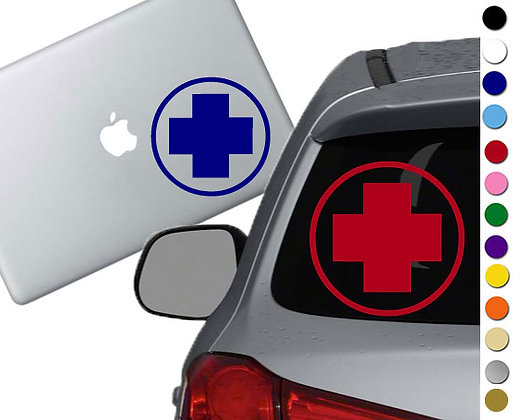 Team Fortress 2 - Medic - Vinyl Decal Sticker - For cars, laptops and more!