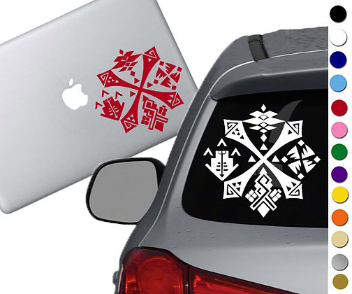 Monster Hunter -Guild Emblem - Vinyl Decal Sticker - For cars, laptops, and more