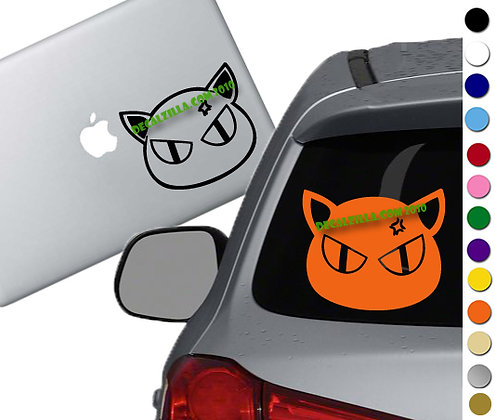 Fruit Basket - Kyo Cat - Vinyl Decal Sticker - For cars, laptops and more!