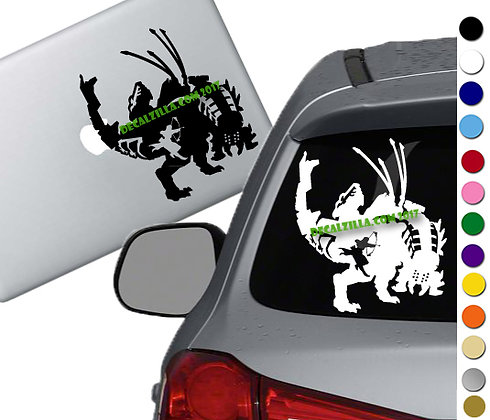 Horizon Zero Dawn - Aloy and Thunderjaw- Vinyl Decal Sticker - For cars and more